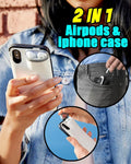 2 in 1 Airpods & iPhone Case