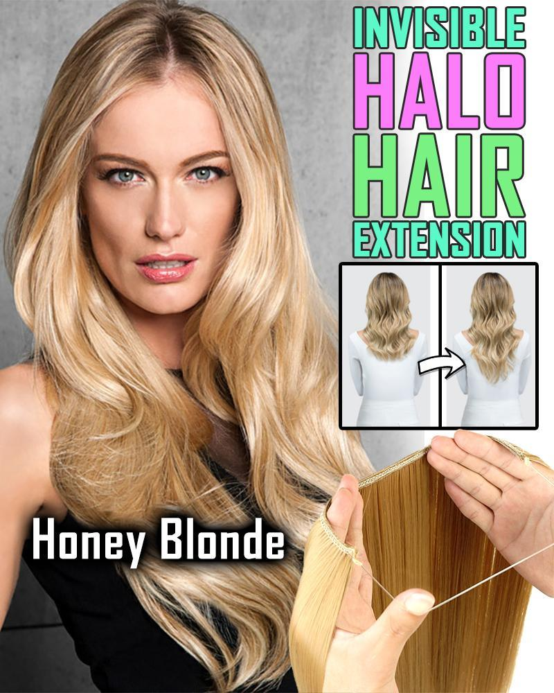 Invisible Halo Hair Extension