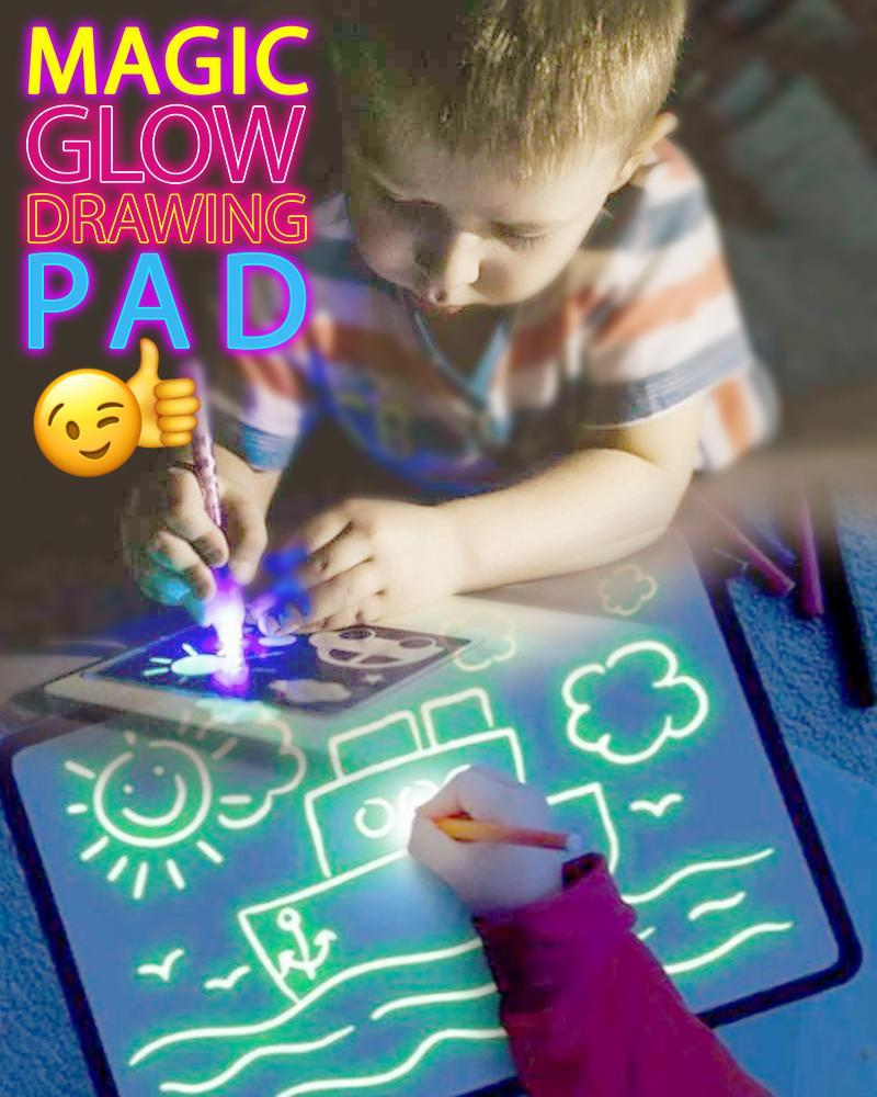 Magic Glow Drawing Pad
