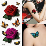 3D Tattoo Stickers