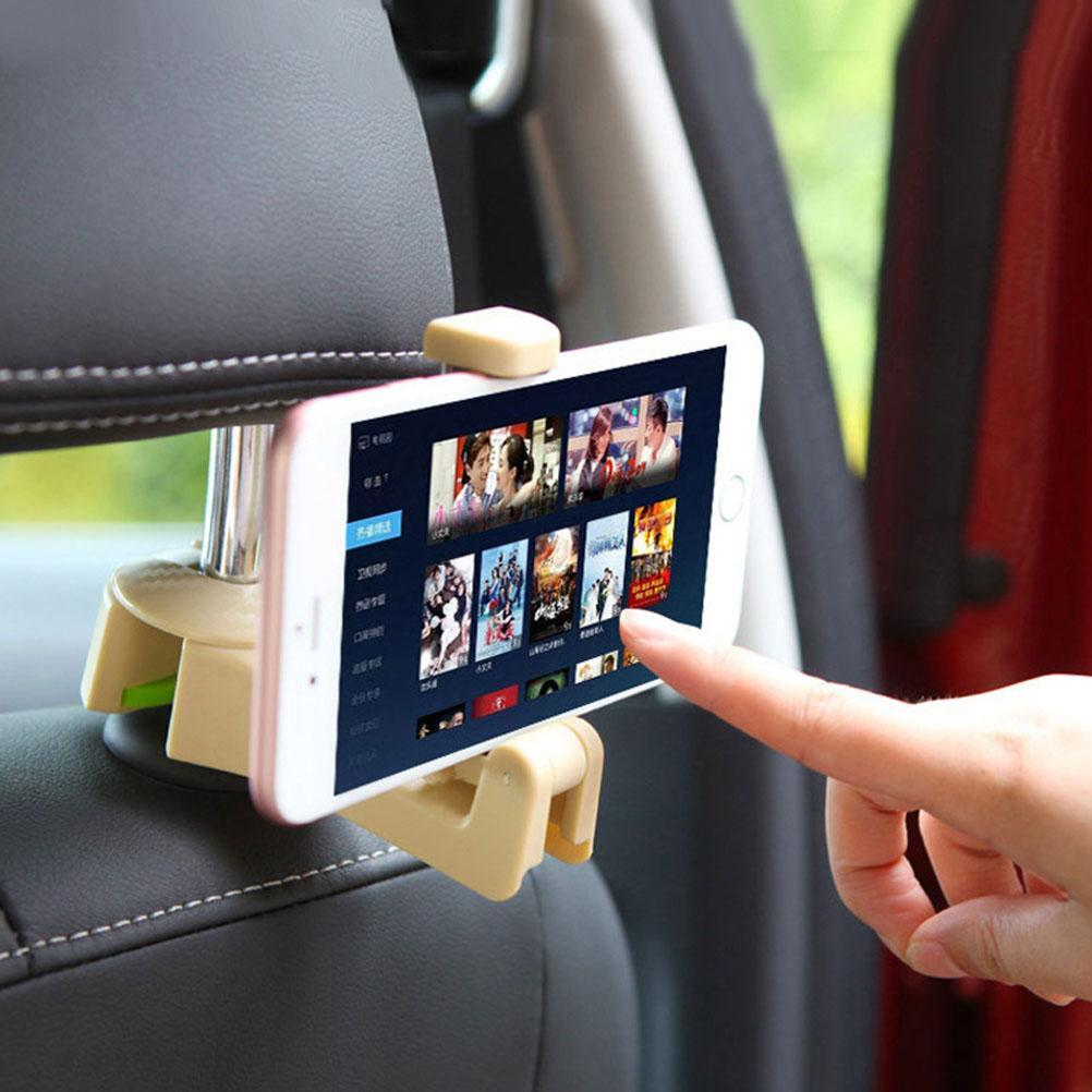 2-in-1 Car Backseat Phone Mount