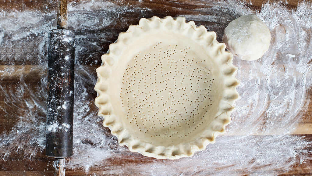 Pie crust for savory or sweet