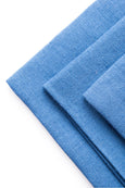 Embrin linen napkins set, marine color. Made with high quality and sustainably grown flax from Normandy, France.