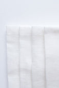 Embrin linen napkins set , made with high quality and sustainably grown flax from Normandy, France . Chalk / off-white color