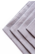 Embrin linen napkins set , made with high quality and sustainably grown flax from Normandy, France . Marine color