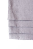 Embrin linen napkins set , made with high quality and sustainably grown flax from Normandy, France. Taupe color.