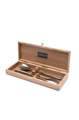 Salad serving set Laguiole stainless steel