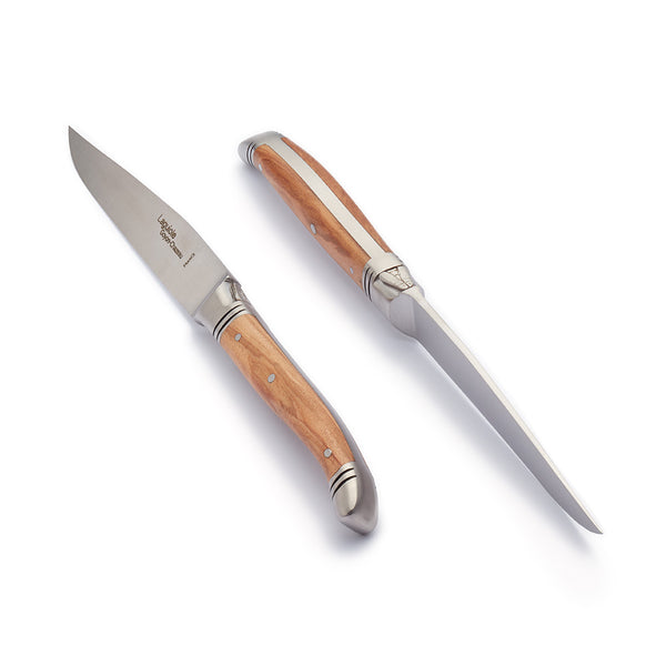 Laguiole steak knife, 100% made in France by Goyon-chazeau