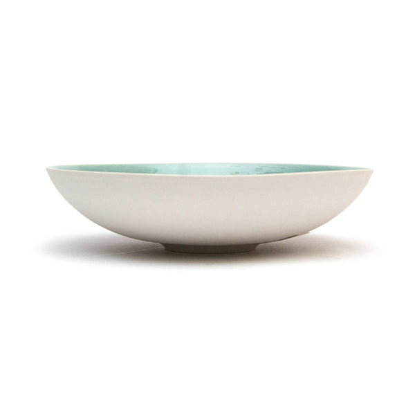 Tourron shallow serving bowl