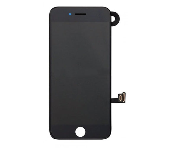 iPhone 7 Screen With Small Parts (Front Cam, Prox Sensor & Speaker) - Black