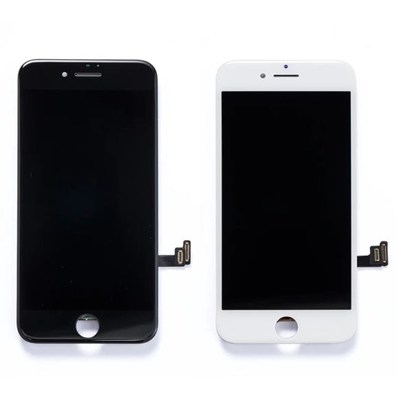 iPhone 6 Plus Screen With Small Parts - White - Premium