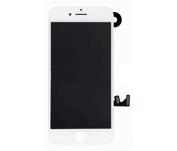 iPhone 7 Screen With Small Parts (Front Cam, Prox Sensor & Speaker) - White