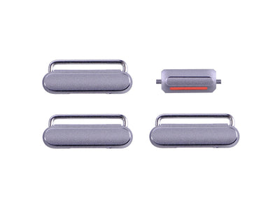 iPhone 6 And 6 Plus - Button Set - Space Grey - Premium