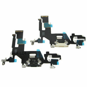 iPhone 11 Pro Max - Replacement Charging Port Flex Cable With Microphone (No Board) - Black - Premium