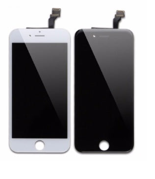 iPhone 6s Screen With Small Parts - Black - Premium