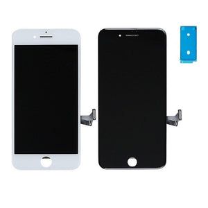 iPhone 8 Screen Replacement  With Small Parts - Black - Premium