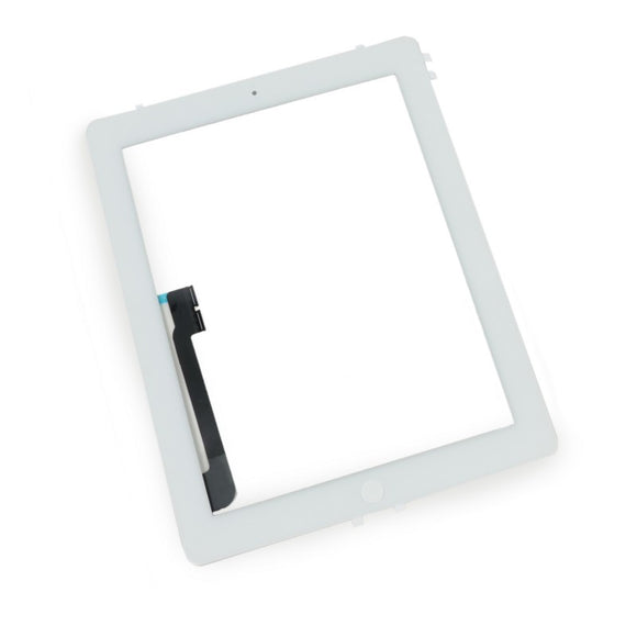 iPad 3 and 4 Digitizer Assembly - White