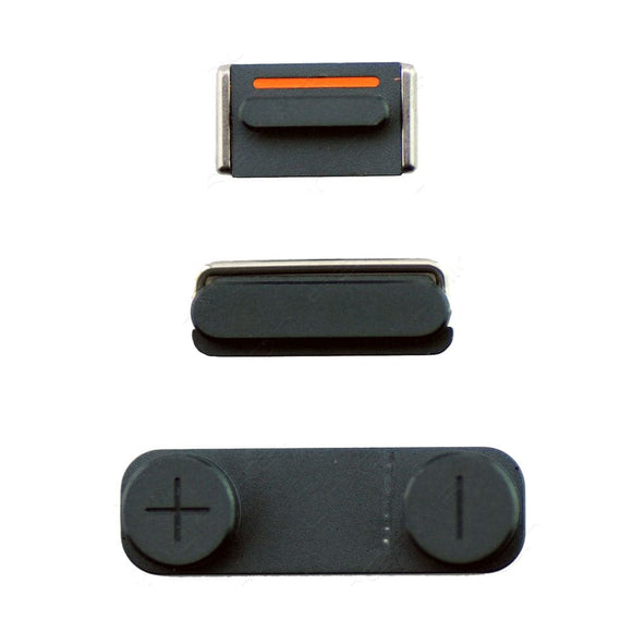 iPhone 5 Side Buttons - Black