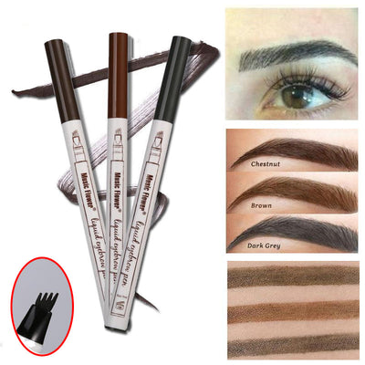 Realistic Eyebrow Pen <p> [Buy 1 Take 2]