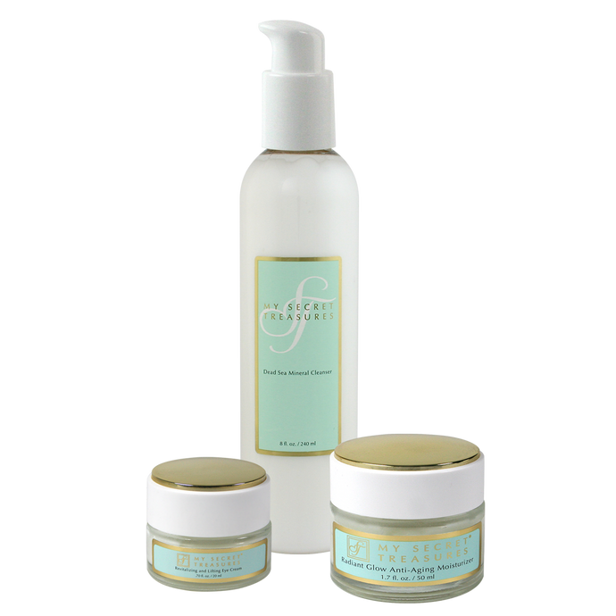 SPECIAL! Cleanser + Moisturizer + Eye Cream Combo