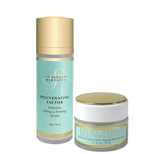 SPECIAL! Rejuvenating Factor Serum + Moisturizer Power Duo