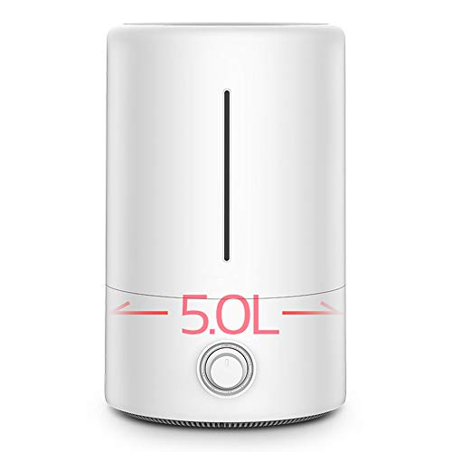 SDOK Ultrasonic Cool Mist Humidifier BPA-Free Silver Ion Water Purification Premium Humidifying Unit with Whisper-Quiet Operation Auto Shut Off Night Light 10 Hours Working Time for Bedroom Baby