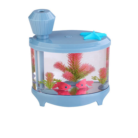 Water Tank Night Light Humidifier