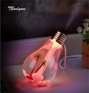 Bulb Ultrasonic Humidifier