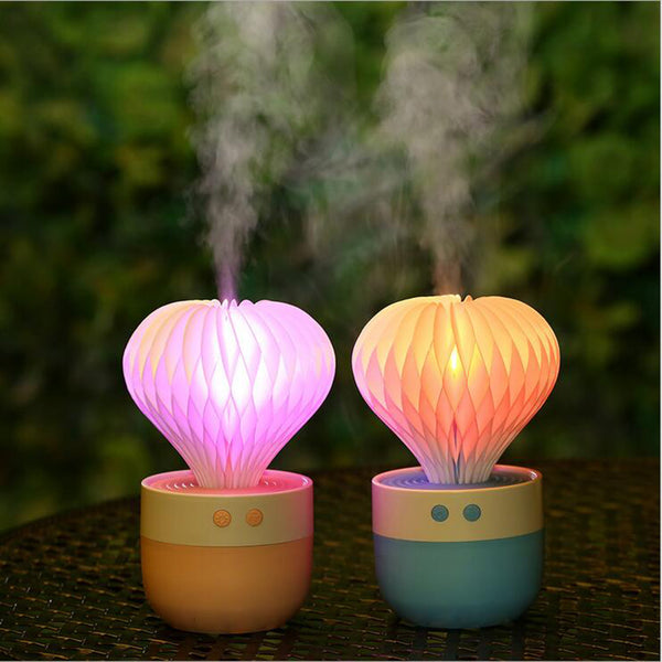 Colorful LED Ultrasonic Humidifier