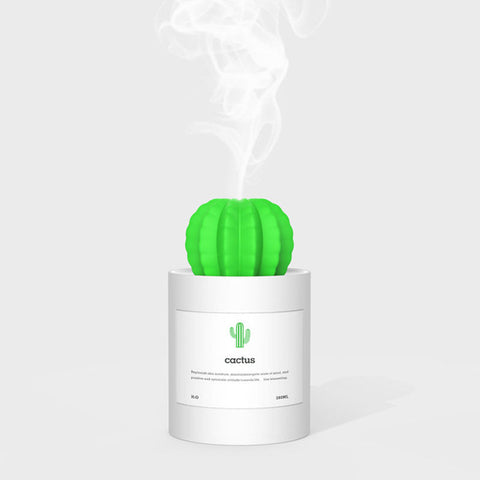 Cute Cactus Ultrasonic Humidifier