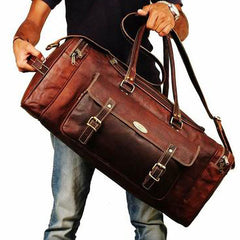 Leather Duffle Bag | Hulsh
