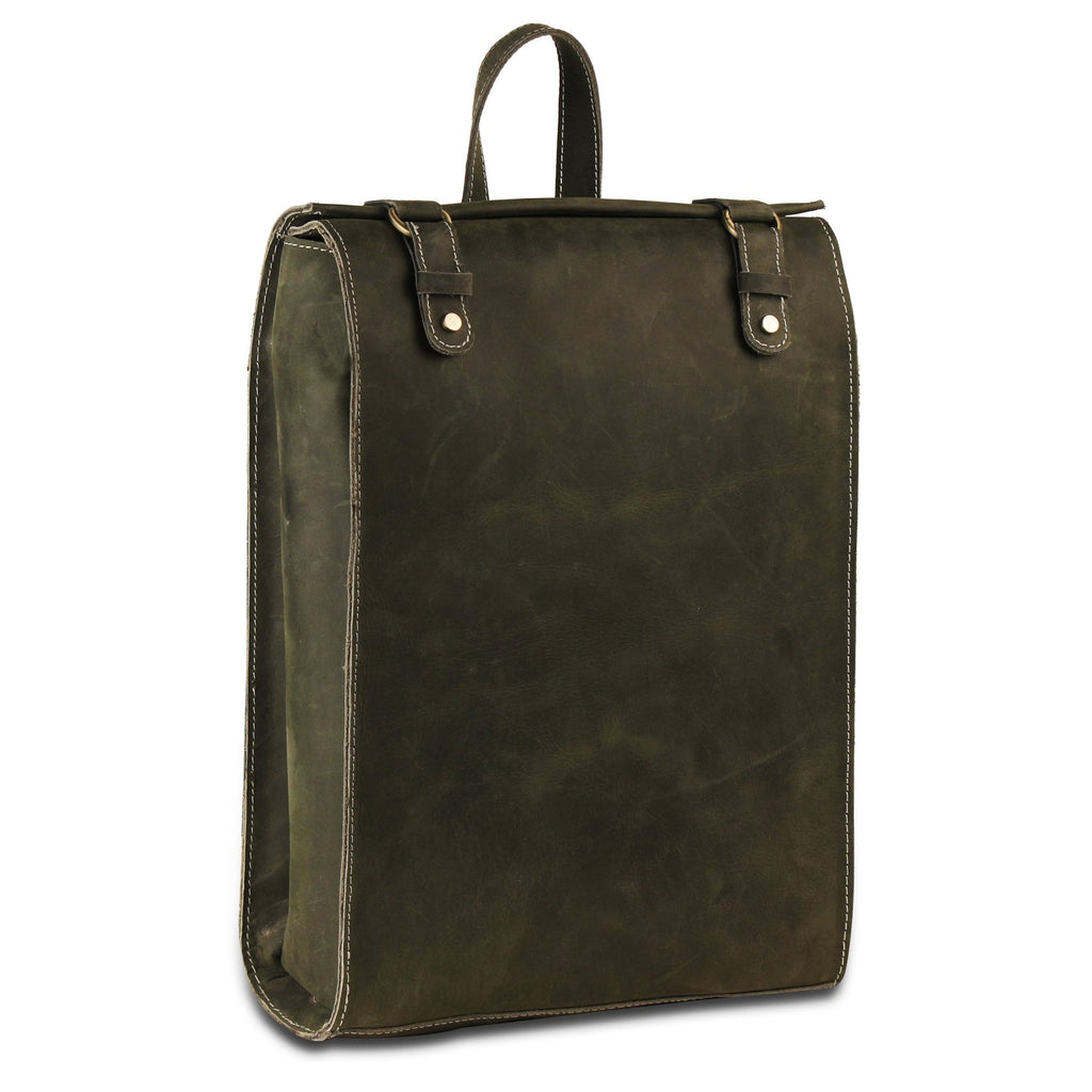 Genuine Buffalo Leather Full grain Backpack