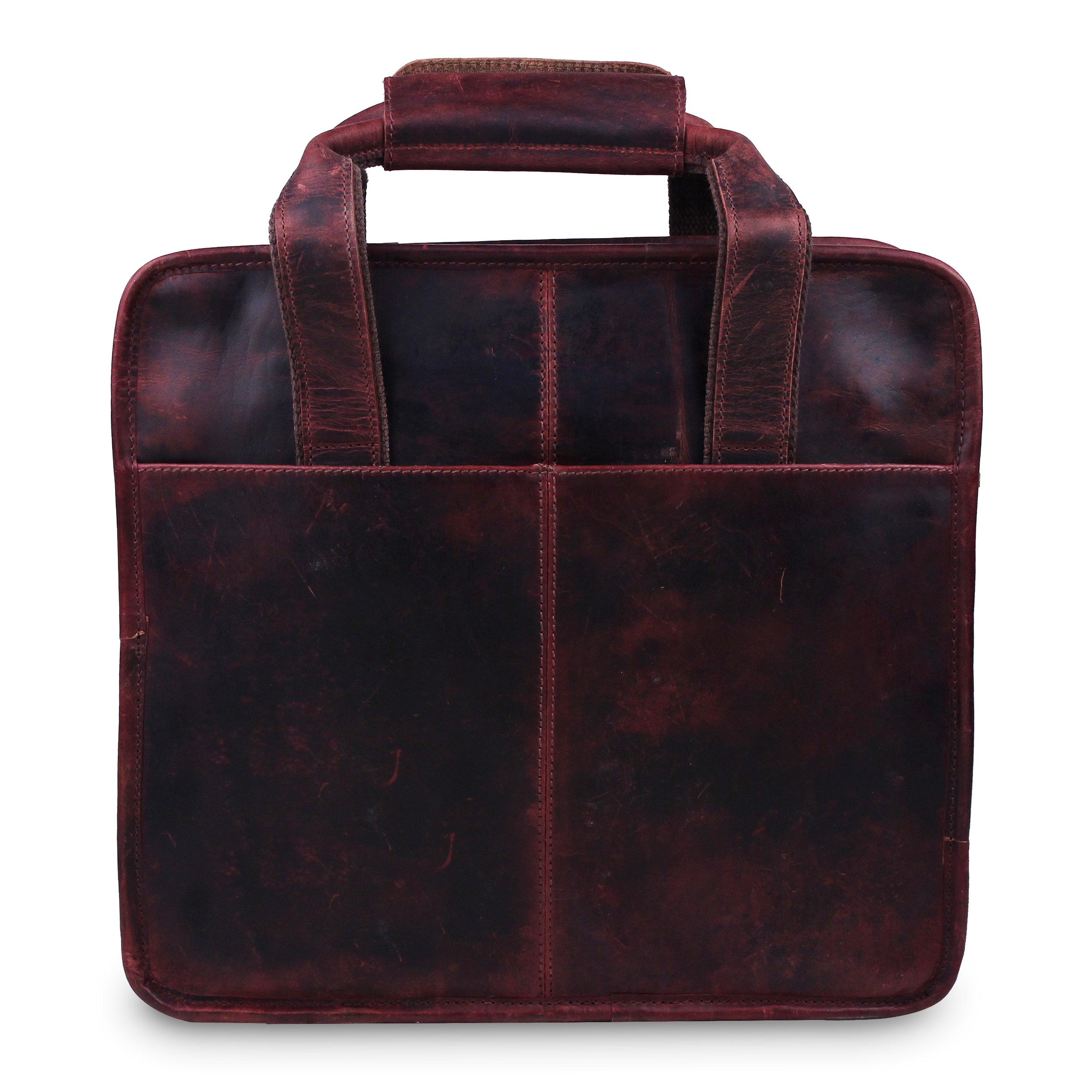 Large Briefcase Bag with Top Handle and Laptop Padding