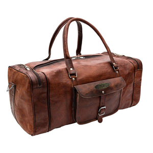 Large Leather Duffle Bags By Hulsh