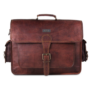 Breown Messenger bag with Shoulder strap for Men