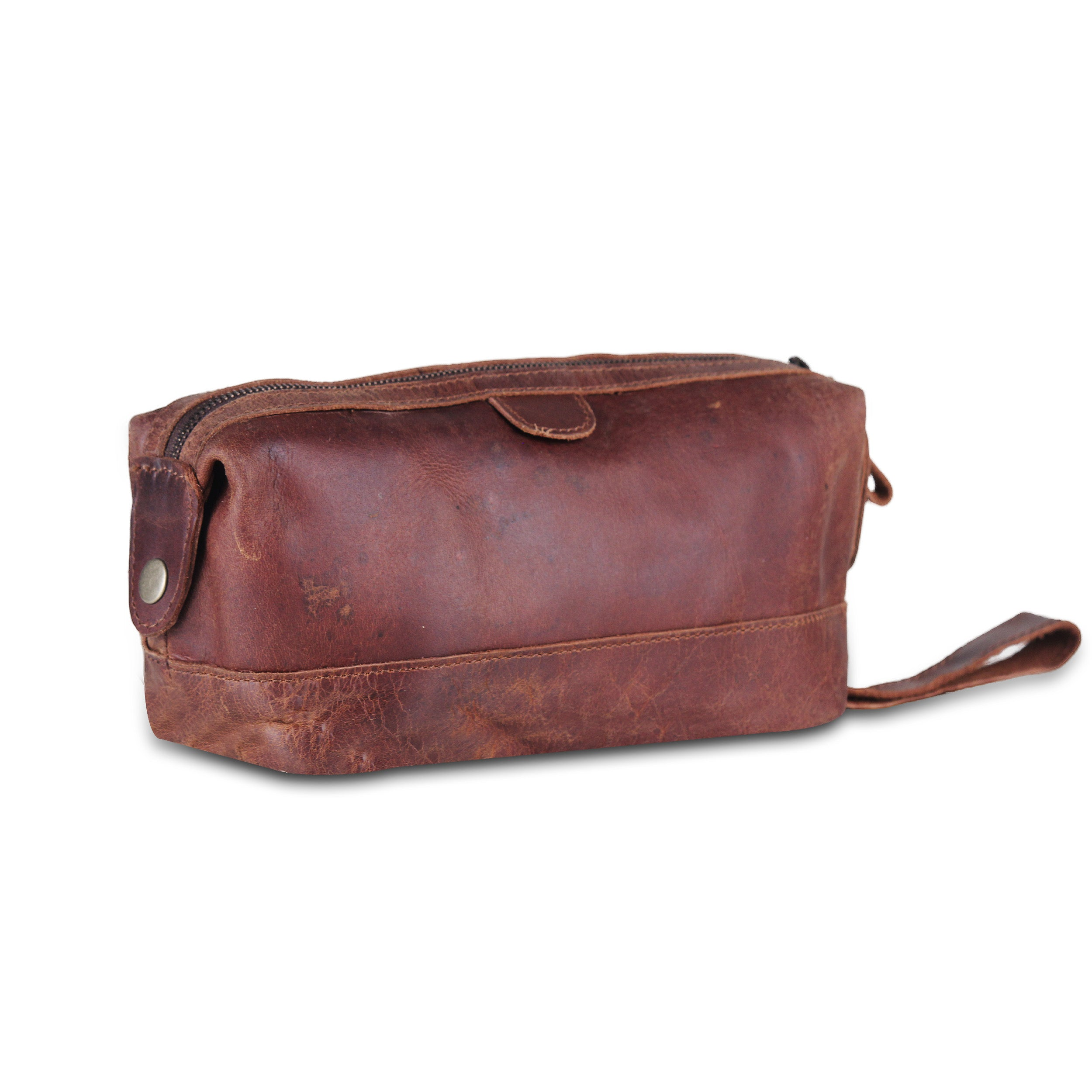 Brown Toiletry Utility Bag