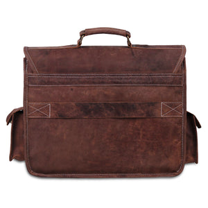 Laptop Padded Messenger Bag with Side pocket and Top handle