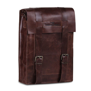 iPad Leather tablet satchel bag with adjustable strap