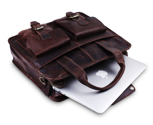 Laptop Padded Briefcase Bag with Top handle