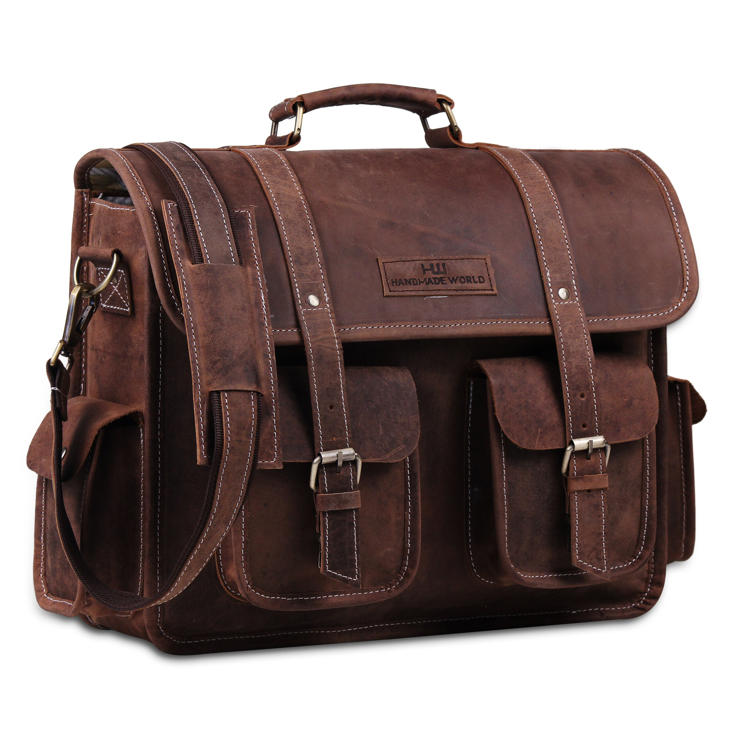 Laptop Padded Messenger Briefcase for professionals, office work etc.