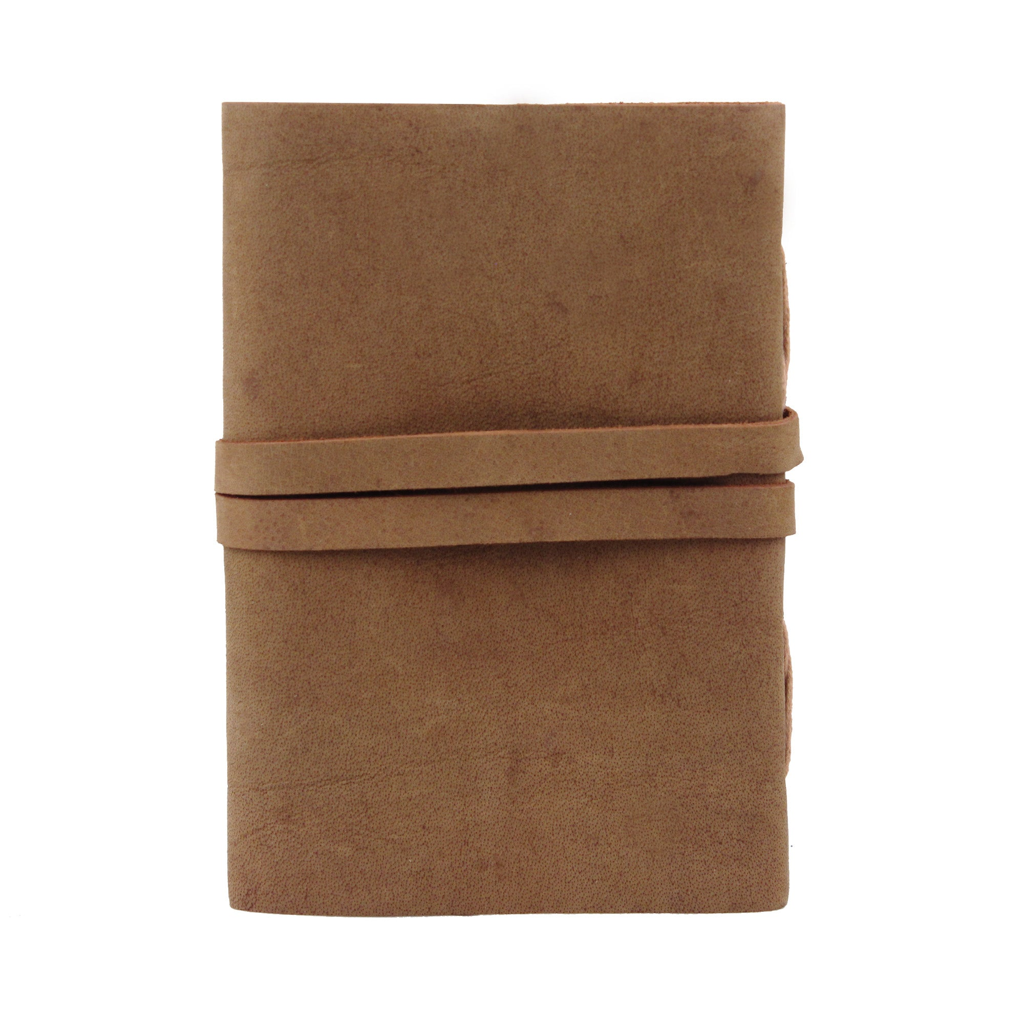 Dark Brown Buffalo Leather Journal Writing Pad