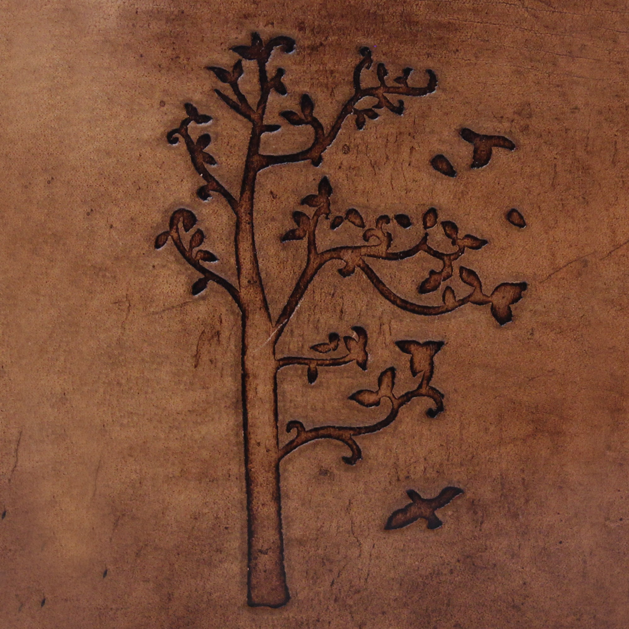 Genuine Leather Tree of Life Journal