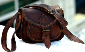 Women's Leather Purse Crossbody Bag