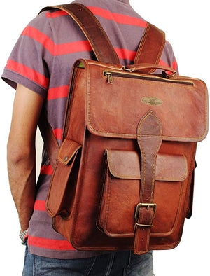Top Laptop padded Shoulder Backpack with External Pocket