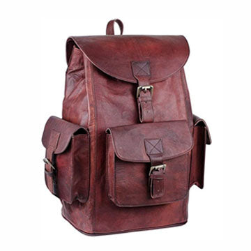 Big Backpack with Large compartments and padded shoulder strap