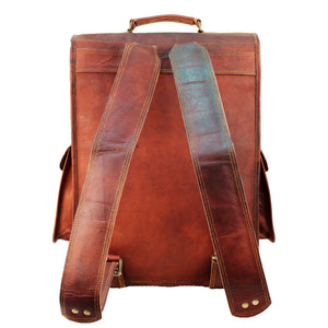 leather backpack men usa