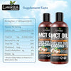Luxura Sciences MCT Oil Organic 250 ml, MCT Keto Oil 100% Premium Grade A