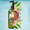 Luxura Sciences Moroccan Argan Oil Shampoo 300 ML ,SLS Sulfate Free Organic - Best for Damaged, Dry, Curly or Frizzy Hair - Thickening for Fine/Thin Hair, Safe for Color and Keratin Treated Hair