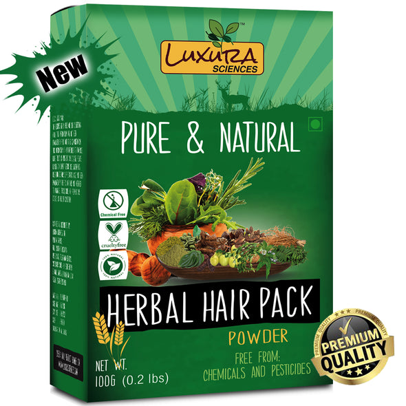 Luxura Sciences Natural Hair Pack (100 Grams)