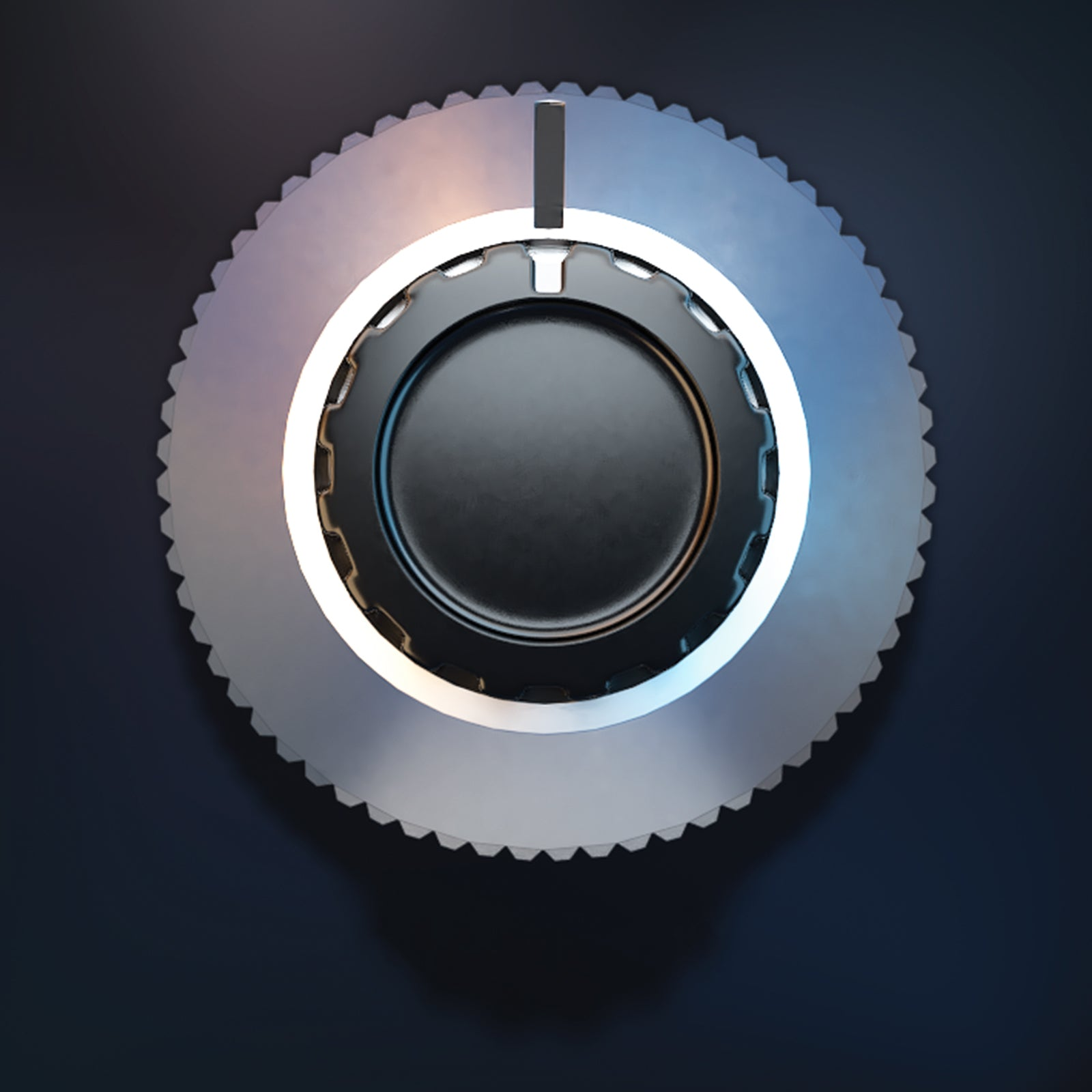 Combined 3D audio knob UI